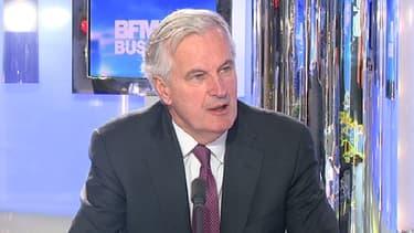 Michel Barnier était l'invité de Stéphane Soumier dans Good Morning Business lundi 18 février.