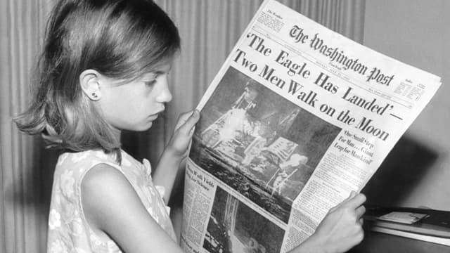 Le 20 juillet 1969 (le 21 en Europe), Neil Armstrong et Buzz Aldrin marchent sur la Lune.