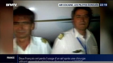 Air Cocaïne: les deux pilotes ont été placés en détention provisoire