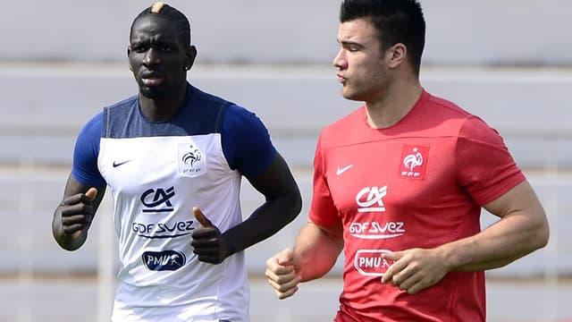 Mamadou Sakho avec le préparateur physique