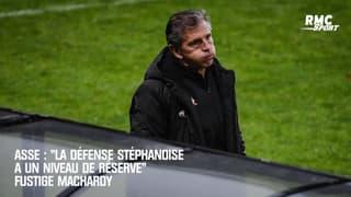 """Saint-Étienne : """"La défense stéphanoise a un niveau de réserve"""" fustige MacHardy"""