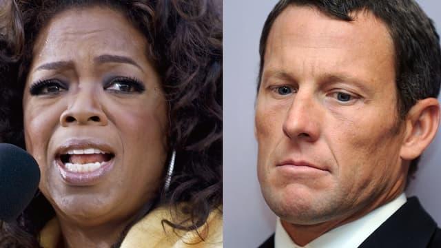 Oprah Winfrey et Lance Armstrong