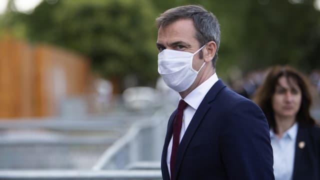 Olivier Véran, ministre de la Santé, ce lundi 13 juillet à Paris.