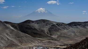 Le volcan Misti, le 12 janvier 2012 au Pérou