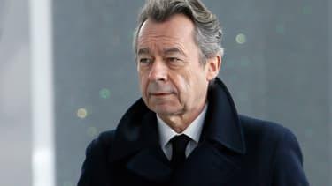 Michel Denisot à Paris en janvier 2014 -