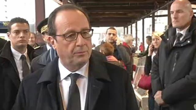François Hollande en Corrèze, le 17 janvier 2015.