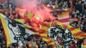 Le public du Racing Club de Lens - AFP
