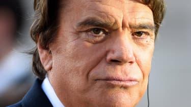 """Bernard Tapie soutient le juge qui s'estime """"menacé"""" par l'ancien PDG du Crédit Lyonnais, Jean Peyrelevade."""