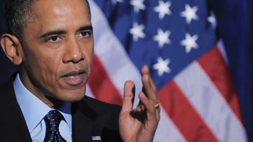 Le président américain Barcak Obama