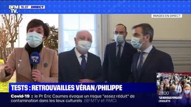 Dépistage massif: les retrouvailles entre Édouard Philippe et Olivier Véran au Havre