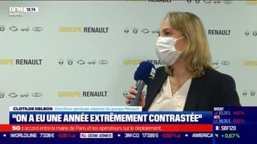 """Clotilde Delbos (Groupe Renault) : """"On a eu une année extrêmement contrastée"""" - 19/02"""