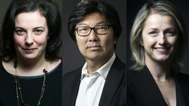 Emmanuelle Cosse, jean-Vincent Placé et Barbara Pompili font leur entrée au gouvernement.