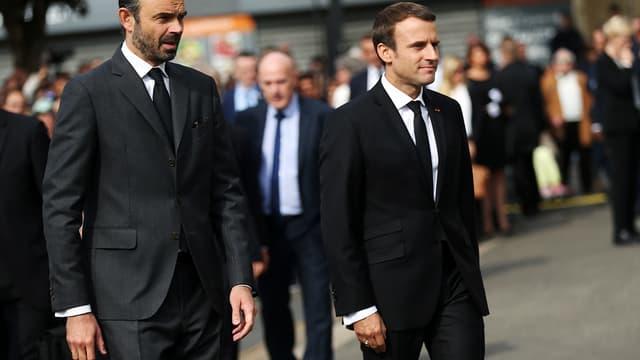 Edouard Philippe et Emmanuel Macron connaissent un regain de popularité, selon deux sondages.