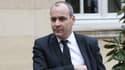 Laurent Berger, le secrétaire général de la CFDT, arrive à l'hôtel de Matignon, en mars 2016.