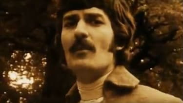 Ray Thomas, le chanteur de The Moody Blues, en 1968