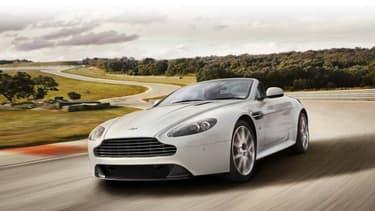 Le modèle Vantage S d'Aston Martin