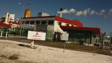 L'usine Areva de Malvesi