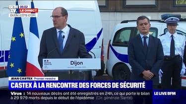 """Dijon: Jean Castex déclare """"avoir été choqué"""" par les violences survenues dans la ville du 12 au 15 juin"""