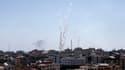 Une centaine de roquettes ont été lancées ce samedi matin depuis la bande de Gaza