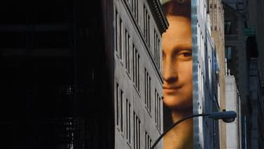 La Joconde affichée à New York. (Photo d'illustration)