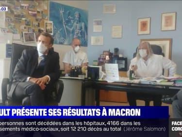 Coronavirus: le professeur Didier Raoult présente les résultats de son étude sur la chloroquine à Emmanuel Macron