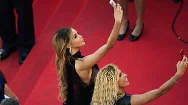Nabilla au Festival de Cannes 2014.