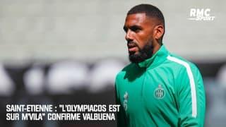 """Saint-Etienne : """"L'Olympiacos est sur M'Vila"""" confirme Valbuena"""