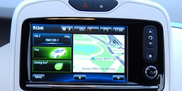 On accède aux fonctions de la voiture comme sur un smartphone.