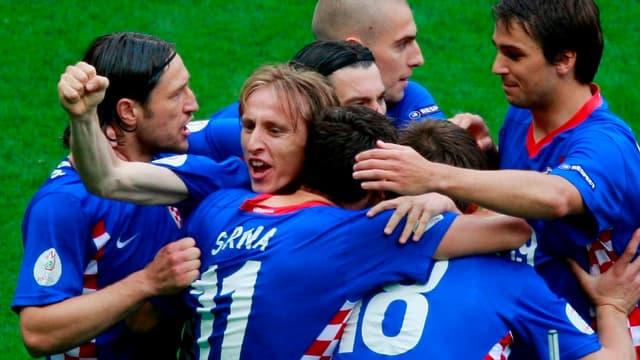 Luka Modric lors de l'Euro 2012