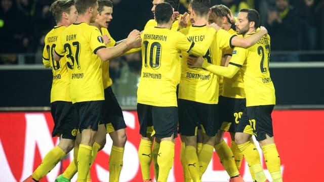 Le Borussia Dortmund vainqueur face à Tottenham (3-0)