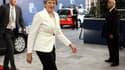 Theresa May, lors de son arrivée à Bruxelles.