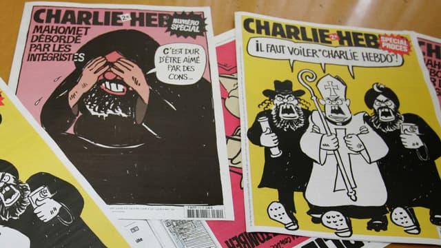 Charlie Hebdo a souvent dû répondre de son insolence devant la justice, mais il n'a jamais été attaqué pour blasphème, puisque la loi française ne le ppévoit pas.