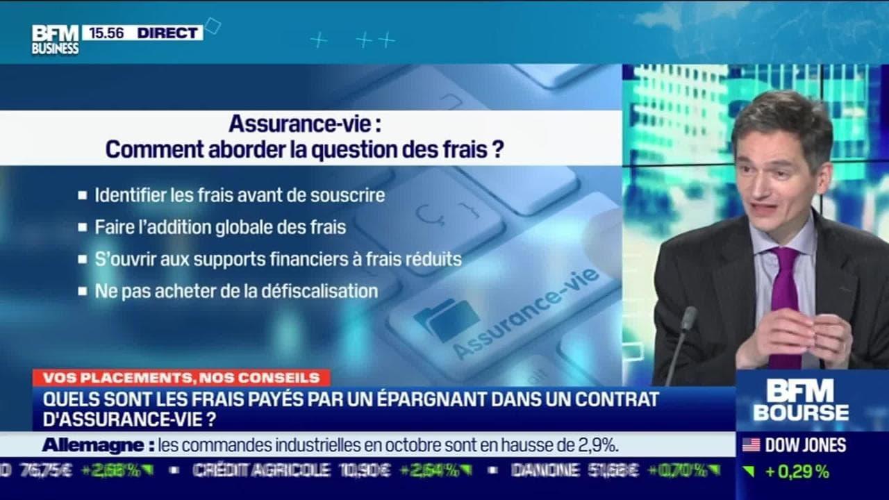 Cyrille Chartier-Kastler (Good Value for Money) : Quels sont les frais payés par un épargnant dans un contrat d'assurance-vie ? - 04/12