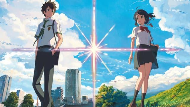 """Taki et Mitsuha, les héros de """"Your Name"""""""
