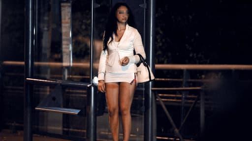 Une prostituée à Toulouse, le 19 octobre dernier.