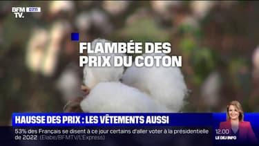 Avec la flambée des prix du coton, les vêtements risquent d'être plus chers