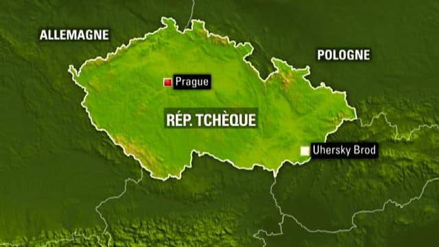 La fusillade a eu lieu dans un restaurant d'Uhersky Brod, dans l'Est de la République tchèque.