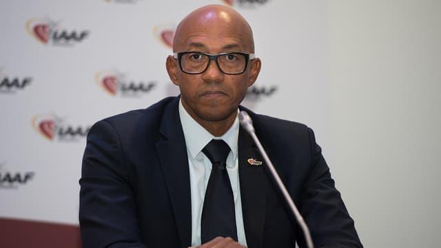 L'ancien spriteur namibien a été mis en examen jeudi soir à Paris pour corruption passive et blanchiment de corruption.