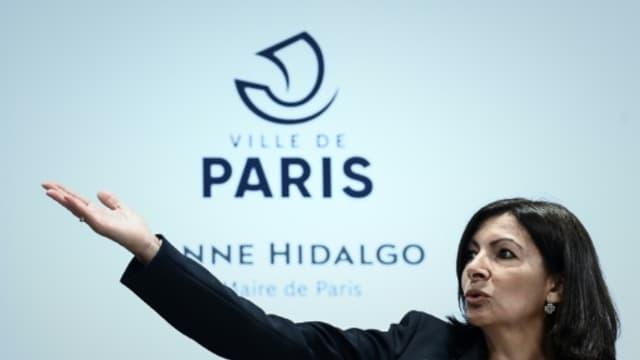 La maire de Paris Anne Hidalgo lors d'une conférence de presse le 21 mars 2019 à Paris - Philippe LOPEZ, AFP/Archives