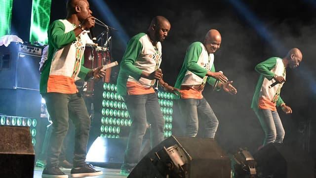 Le groupe Magic System en août 2017 à Abidjan.