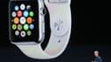 """Le directeur général d'Apple, Tim Cook, présente la nouvelle """"Apple Watch"""" ce mardi 9 septembre."""