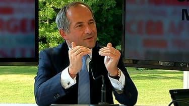 Frédéric Oudéa, le PDG de la Société générale, était l'invité de BFM Business, mercredi 28 août.