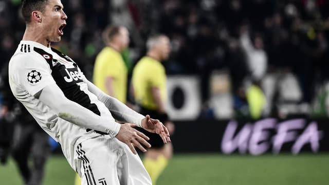 Cristiano Ronaldo à la Juventus Turin