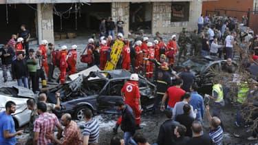Un double attentat avait fait 25 morts à Beyrouth au Liban, mardi 19 novembre au matin.