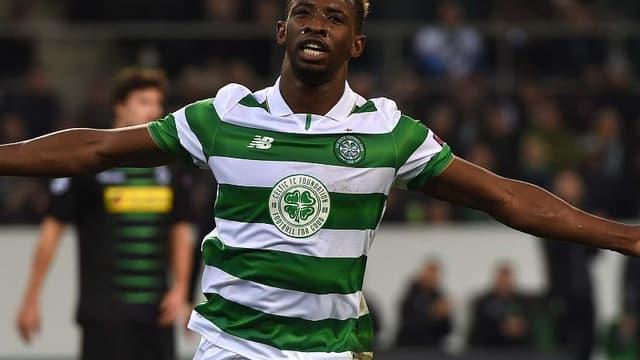 Moussa Dembélé (Celtic Glasgow) a marqué son cinquième but en trois matches face aux Rangers.