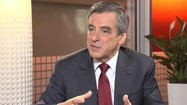François Fillon, invité de BFMTV le 22 novembre 2016.