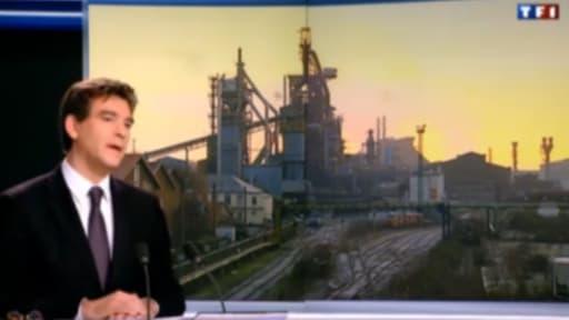 Arnaud Montebourg (ici sur le plateau de TF1) défend avec ardeur l'offre de Bouygues