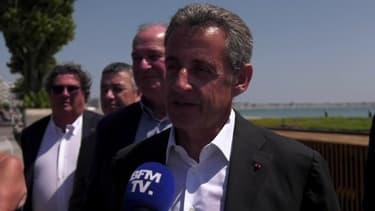 """Sarkozy contre-attaque et évoque une """"machination"""""""