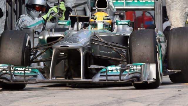 GP de Malaisie : Lewis Hamilton