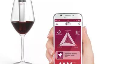 Le scanner mis au point par la start-up iséroise analyse du vin rouge uniquement, pour l'instant.